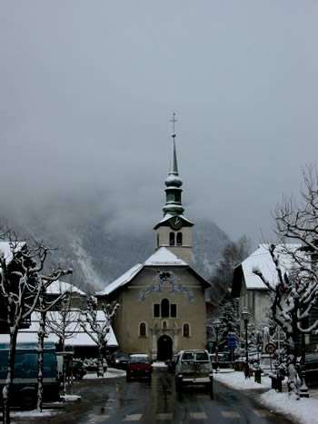 Church at Les Houches
