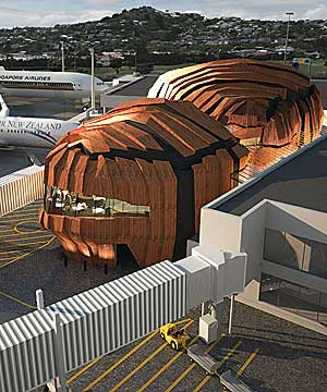 Wellington Airport's proposed extention to the International Terminal,