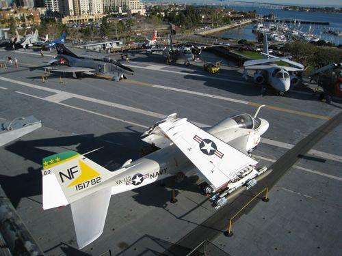 USS Midway deck